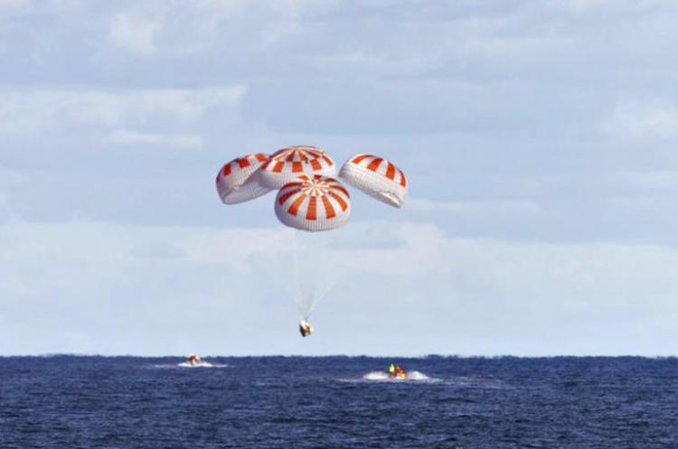 ՆԱՍԱ-ի տիեզերագնացները ՄՏԿ-ից վերադառնալիս 45 տարվա մեջ առաջին անգամ վայրէջք կկատարեն օվկիանոսում