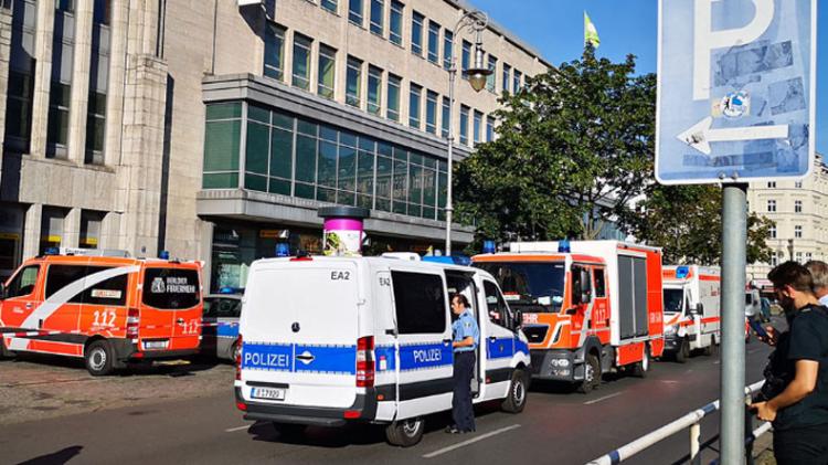 Բեռլինում բանկի վրա հարձակման հետևանքով կան վիրավորներ