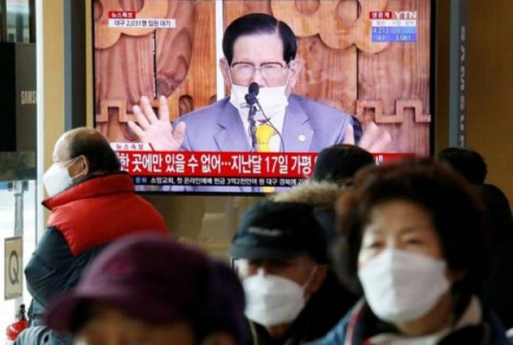 Հարավային Կորեայում Covid-19-ի բռնկման պատճառ դարձած աղանդավորական շարժման առաջնորդը ձերբակալվել է