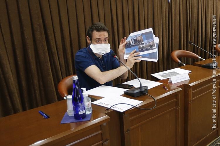Քաղաքաշինական խորհուրդը հավանություն տվեց ներկայացված 3 նախագծերից մեկին