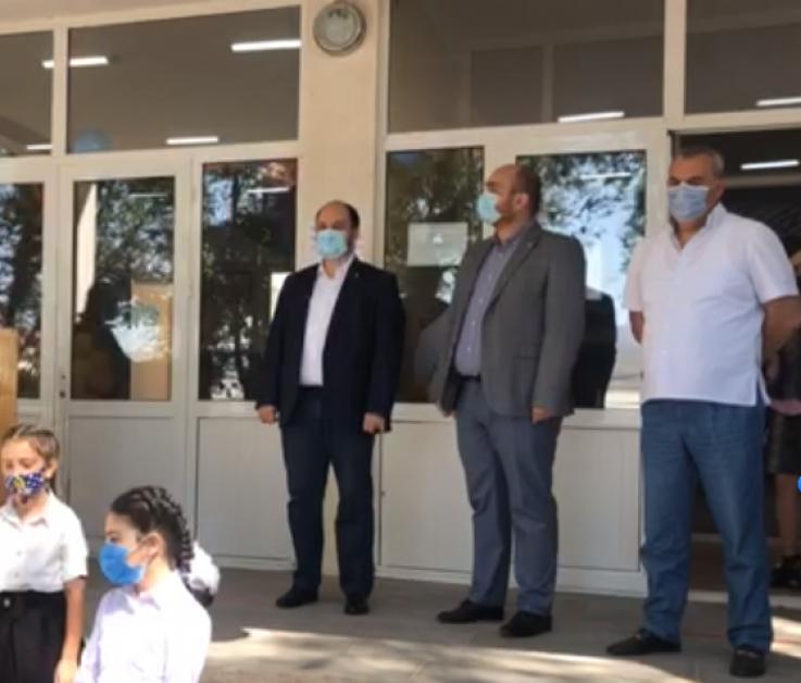 Գեղադիր, Արագածոտնի մարզ. Բացում ենք 21 նոր նախակրթարաններից մեկը. Արայիկ Հարությունյան (տեսանյութ)