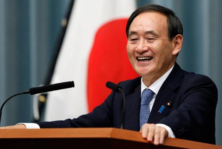 Խորհրդարանը Յոսհիդե Սուգային հաստատեց որպես Ճապոնիայի նոր վարչապետ