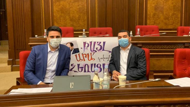 Թեժ աշունը ԱԺ դահլիճում. Ալեն Սիմոնյան