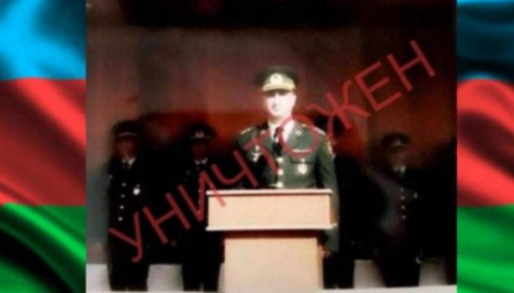 Ոչնչացվել է Ադրբեջանի ԶՈՒ փոխգնդապետը՝ «Կոբրա» մականվամբ