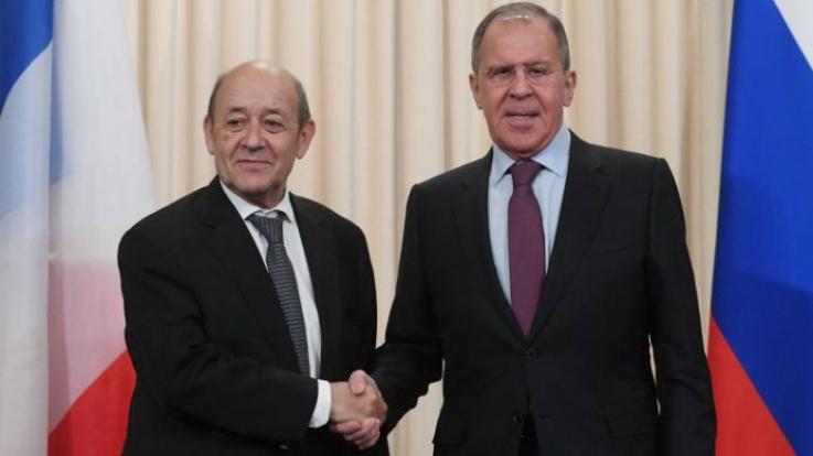Ռուսաստանի և Ֆրանսիայի ԱԳ նախարարները քննարկել են ԼՂ հակամարտության հարցը