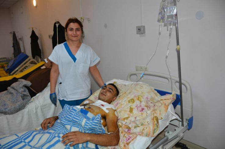 Շուշիում վիրավորված փրկարարներից Հարութ Ապրեսյանն արդեն դուրս է գրվել հիվանդանոցից. ԱՀ ԱԻՊԾ