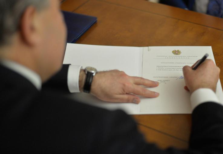 Նախագահի հրամանագրով՝ ՀՀ ԶՈՒ ԳՇ հետախուզության գլխավոր վարչության պետի տեղակալ է նշանակվել