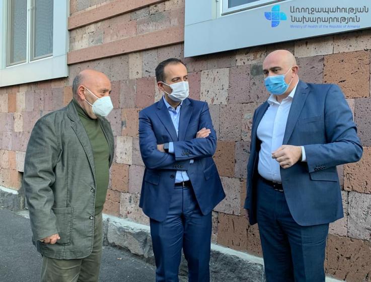 ԱՆ նախարար Արսեն Թորոսյանն  այցելել է հիվանդությունների վերահսկման և կանխարգելման կենտրոն