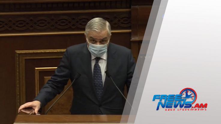 «Հայաստան» համահայկական հիմնադրամի միջոցների մի մասը նվիրաբերվել է Կառավարությանը․ Մհեր Գրիգորյան