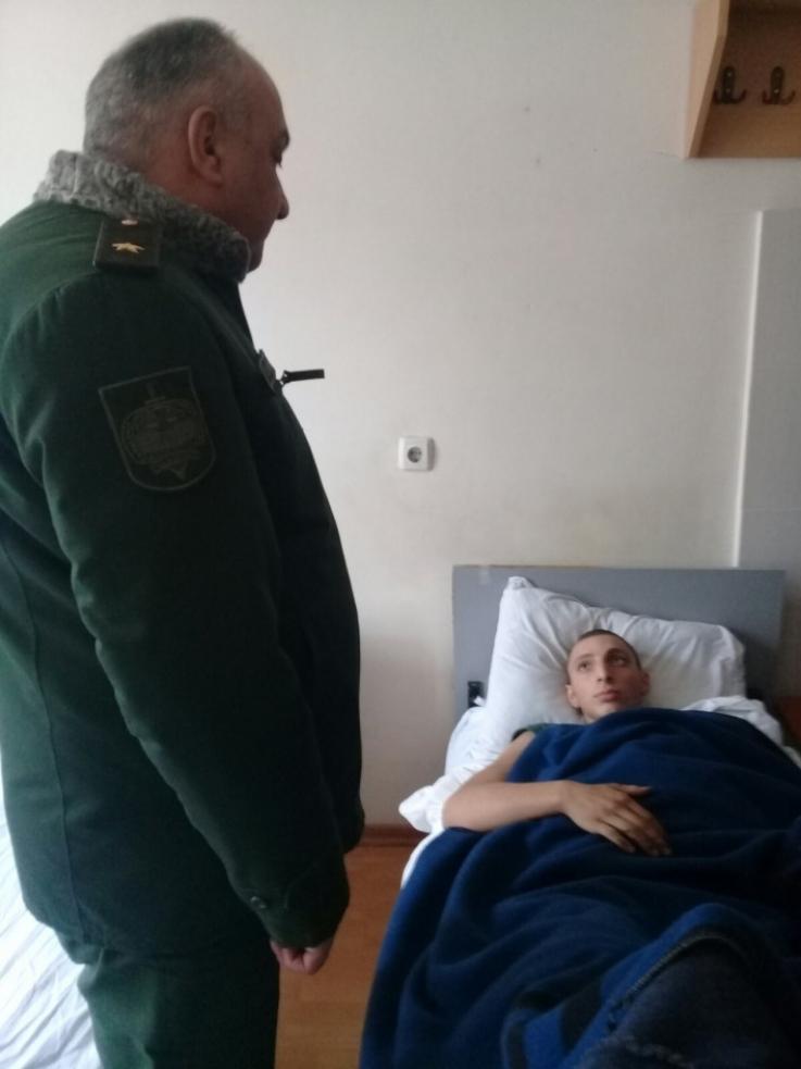 ՀՀ զինվորական դատախազն Արցախում այցելել է Մարտակերտի շրջան և Ստեփանակերտի զինվորական հոսպիտալ