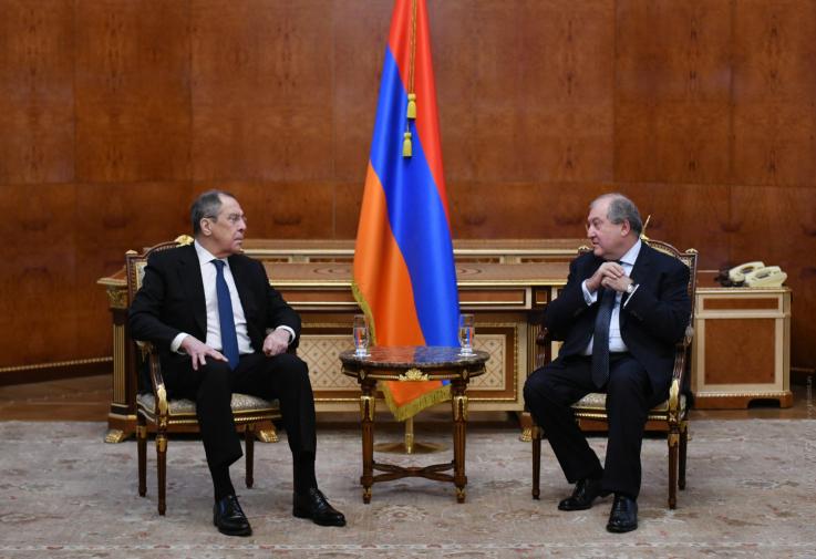 Հայ ժողովուրդը շնորհակալ է Ռուսաստանին եւ ՌԴ նախագահին. Արմեն Սարգսյան
