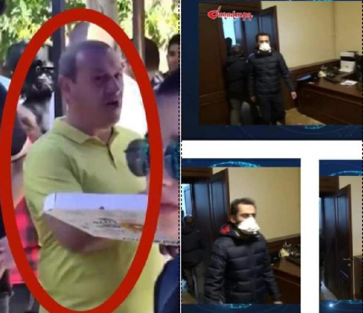 «Ասադոր»-ի և Wine Republic-ի սեփականատերերը՝  Քոչարյանի աջակիցների ցույցին և Կառավարության շենքի անկարգություններին (լուսանկարներ)