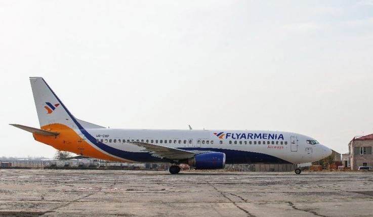 Հայաստան է ներմուծվել BOEING 737-400 ինքնաթիռը