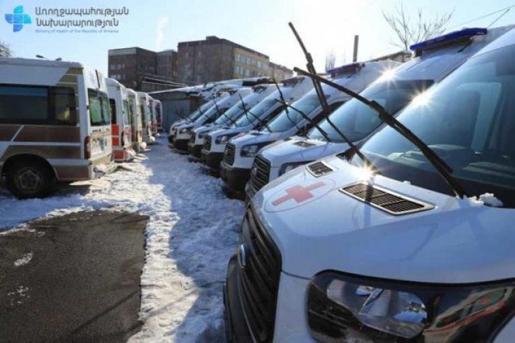 Հիմնադրամը 15 շտապօգնության մեքենա է նվիրաբերել ՀՀ Առողջապահության նախարարությանը