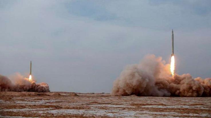 Իրանական հրթիռները պայթել են ԱՄՆ ՌԾՈՒ ավիակրից 160 կմ հեռավորության վրա