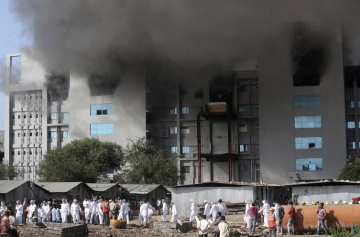 Կորոնավիրուսի դեմ պատվաստանյութ մշակող հնդկական ինստիտուտում հրդեհ է բռնկվել