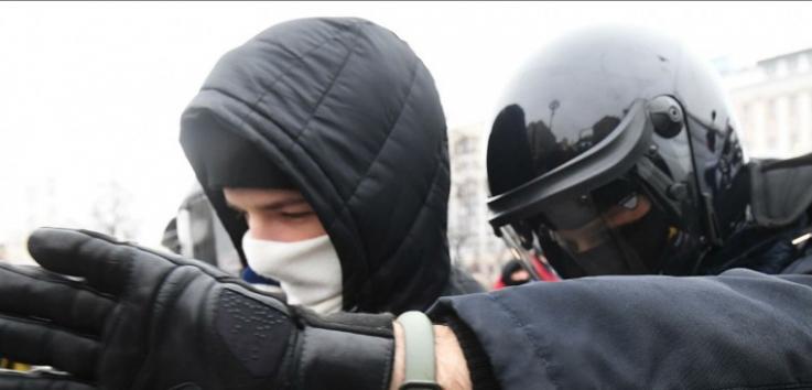 Իրավապահ մարմինների 3 աշխատակից է տուժել Մոսկվայում անցկացվող չարտոնագրված ցույցերի ժամանակ