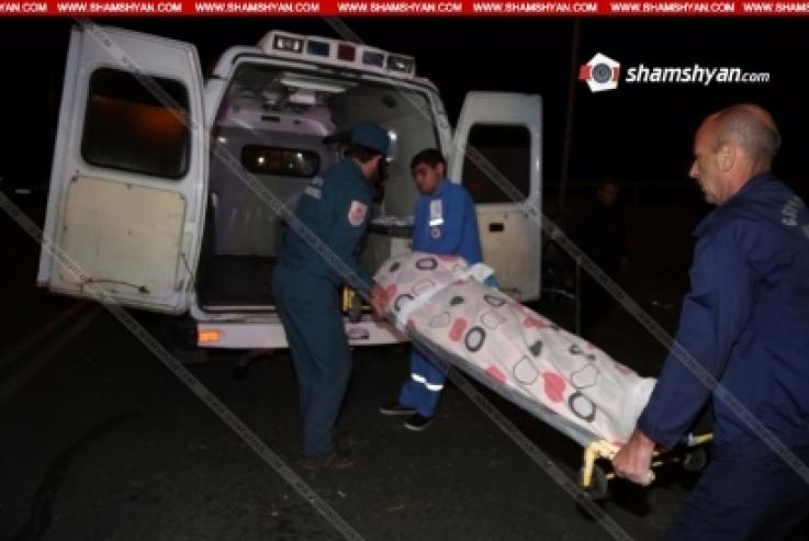 Ողբերգական ավտովթար Սյունիքի մարզում․ մեքենան հայտնվել է ձորում. կա 2 զոհ, 1 վիրավոր