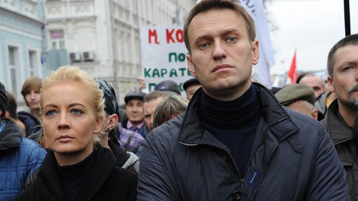 Մոսկվայում չարտոնված ցույցի ժամանակ բերման է ենթարկվել Նավալնիի կինը