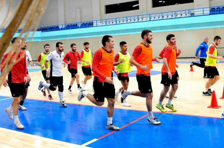 Ֆուտզալի ազգային հավաքականը սկսում է մարզական հավաքը
