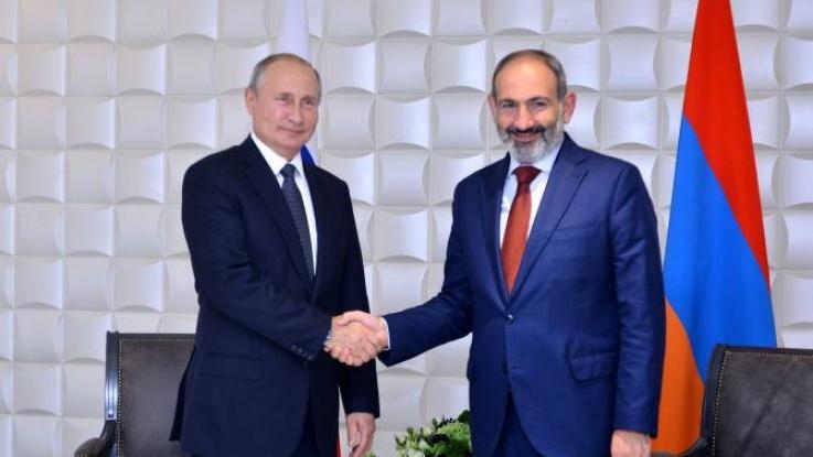 Մոսկվայում մեկնարկել է Նիկոլ Փաշինյանի և Վլադիմիր Պուտինի հանդիպումը