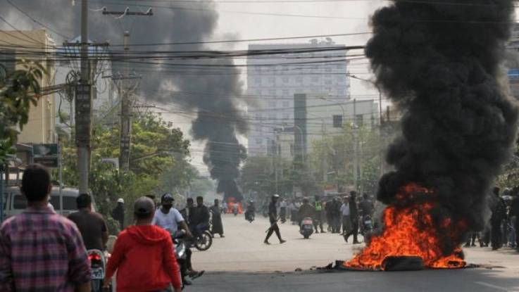 Մյանմայում բախումների հետևանքով զոհերի թիվը հասել է մոտ 600-ի
