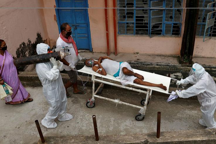 Հնդկաստանը աշխարհում COVID-19 դեպքերի քանակով գերազանցում է Բրազիլիային