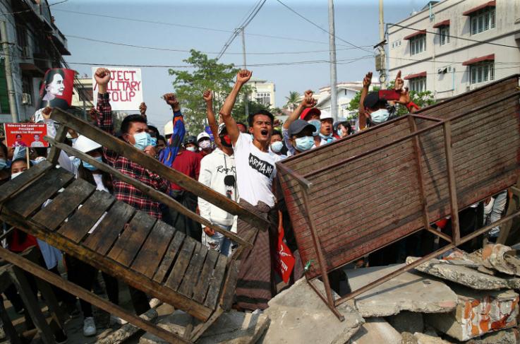 Մյանմարում ճգնաժամի սկսվելուց հետո 707 մարդ է մահացել․ ՄԱԿ