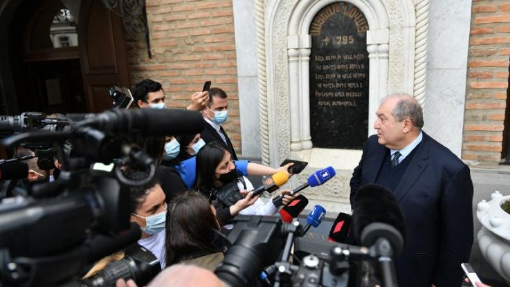 Հայաստանն ի վերջո պետք է դառնա ոչ թե փակուղի, այլ՝ խաչմերուկ. Արմեն Սարգսյանն ամփոփել է իր պաշտոնական այցը Վրաստան (տեսանյութ)