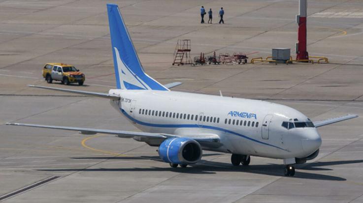 Արմենիա ավիաընկերությունն այսօր երկու նոր չվերթի մեկնարկ տվեց