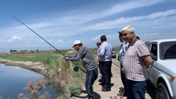 Արարատի մարզում առգրավվել է ձկնորսական 4 ցանց