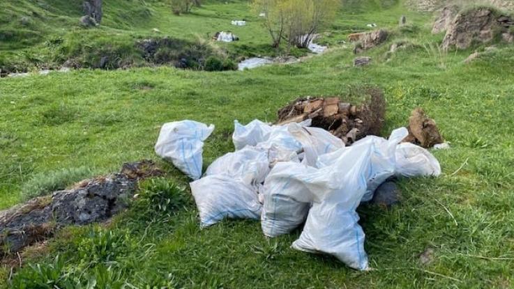 Մաքրման աշխատանքներ Սևանա լիճ թափվող գետերի ափամերձ տարածքներում