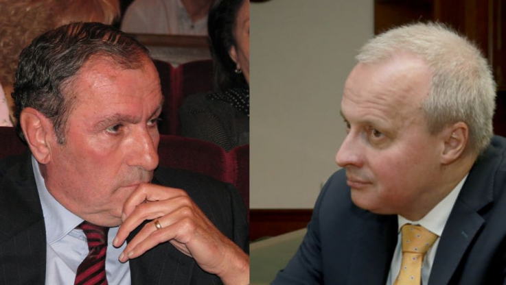 Լևոն Տեր-Պետրոսյանը հանդիպել է Հայաստանում Ռուսաստանի դեսպան Սերգեյ Կոպիրկինին