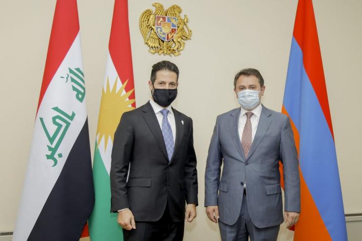 Հայկ Չոբանյանը ընդունել է Իրաքյան Քուրդիստանի փոխվարչապետին