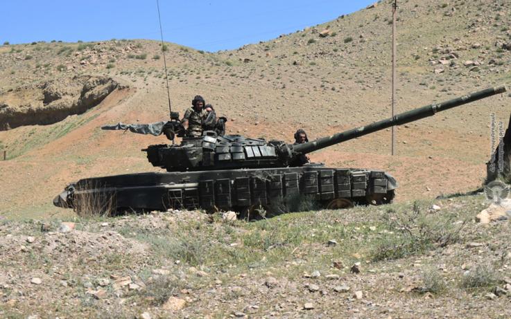 5-րդ զորամիավորումում անցկացվել է մարտավարական զորավարժություն