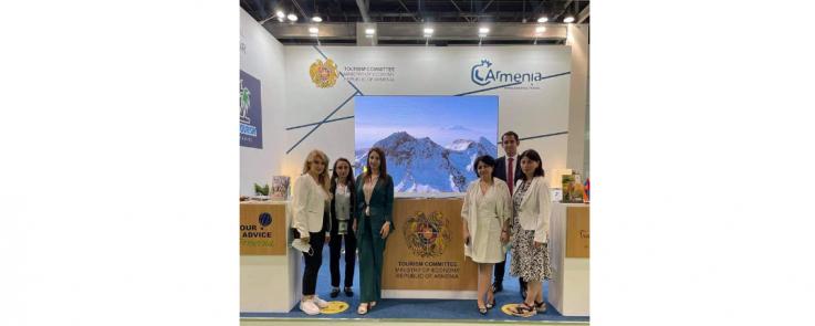 Հայաստանն իր զբոսաշրջային ներուժը ներկայացնում է Միջին Արևելքի ATM Dubai ցուցահանդեսում
