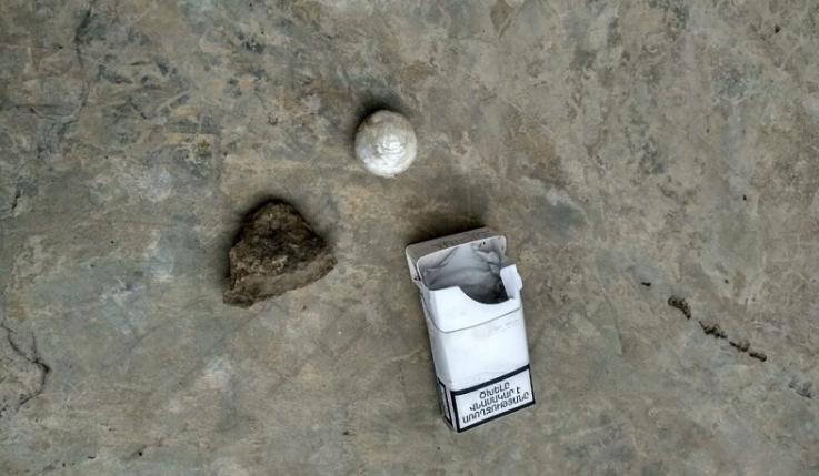 «Վանաձոր» ՔԿՀ-ում ծխախոտի տուփի մեջ հայտնաբերվել է մարիխուանային նմանվող զանգված