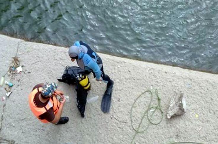 Փրկարարներն Էջմիածնի ջրանցքից դուրս են բերել 55-ամյա քաղաքացու դի