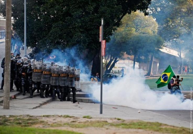 Բրազիլիայում հանրահավաքներ են անցկացվել  կառավարության դեմ