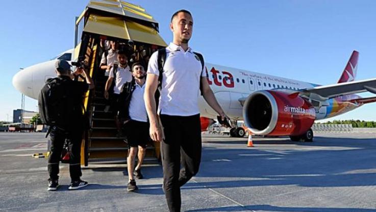 Հայաստանի ֆուտբոլի ազգային հավաքականը ժամանել է Շվեդիա