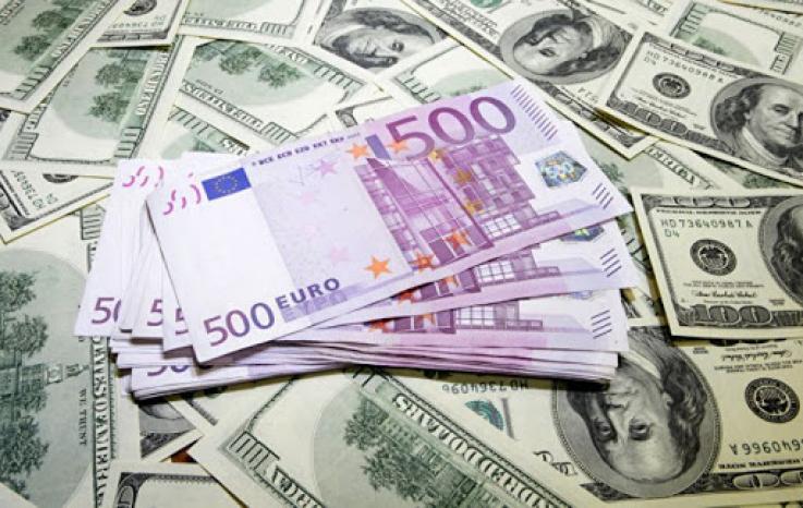 Դոլարի ու եվրոյի փոխարժեքը նվազել է