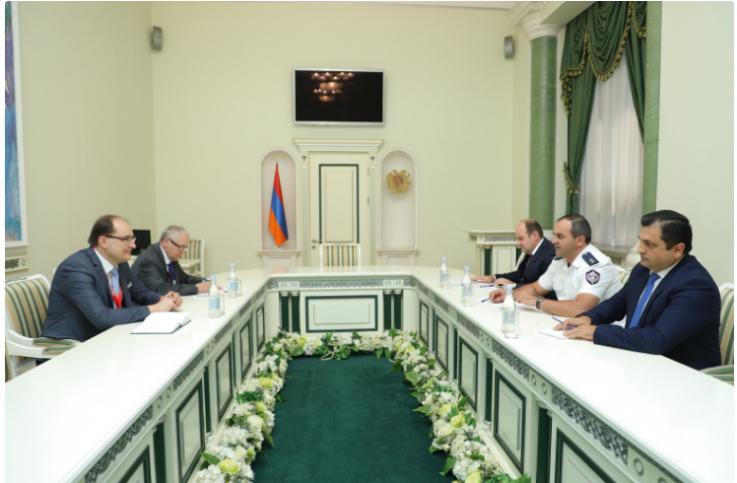 ՀՀ գլխավոր դատախազը հանդիպել է ԱՊՀ դիտորդական առաքելության պատվիրակությանը