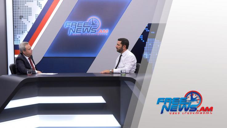 Ազատ զրույց Արթուր Կիրակոսյանի հետ 10.06.2021