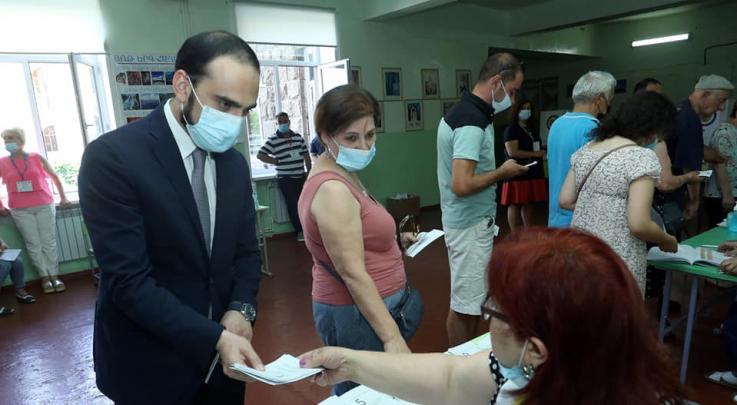 Քվեարկեցի հանուն Հայաստանի ժողովրդավարական, ազատ և ինքնիշխան ապագայի. Ավինյան