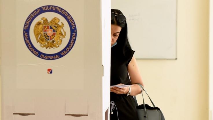 Ժամը 14-ի դրությամբ քվեարկել է ընտրողների 26,82 տոկոսը