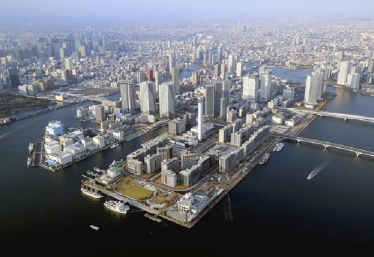 «Տոկիո-2020»-ի կազմակերպիչները ներկայացրել են Հարումի կղզում կառուցված օլիմպիական ավանը