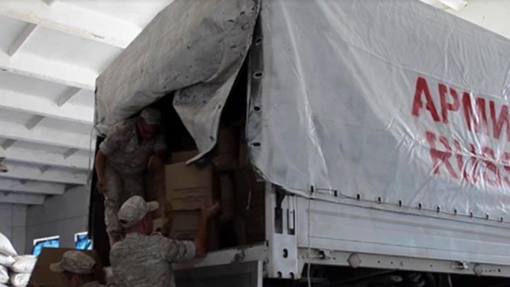 Ռուս խաղաղապահները 18 տոննա մարդասիրական օգնություն են հասցրել Արցախ