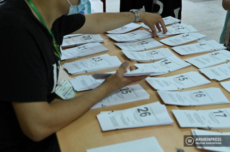 «Ինքնաբացարկ է հայտնել ԱԺ պատգամավորի 20 թեկնածու». ԿԸՀ քարտուղար