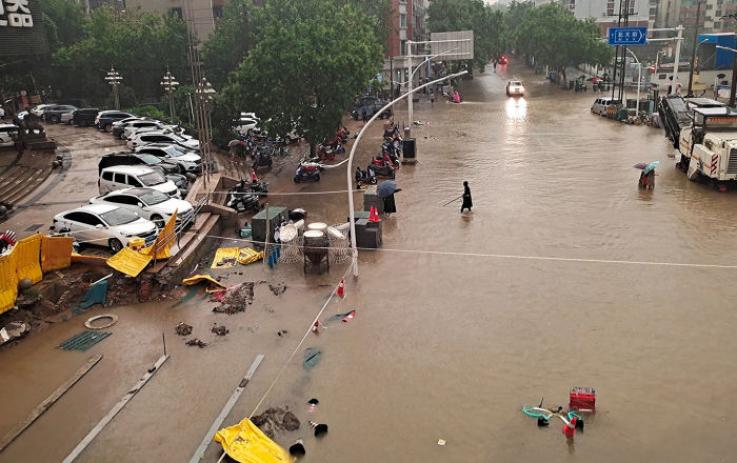 Ջրհեղեղի հետևանքով  Չինաստանում զոհերի թիվը հասել է 33-ի