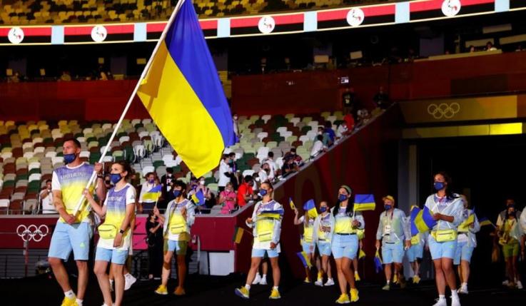 Ռուսաստանում չեն հեռարձակել Ուկրաինայի մարզիկների շքերթը օլիմպիական խաղերի բացմանը
